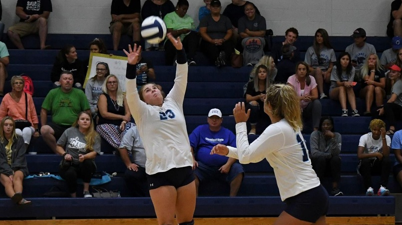 Lady Cougars Split Matches At Welch College