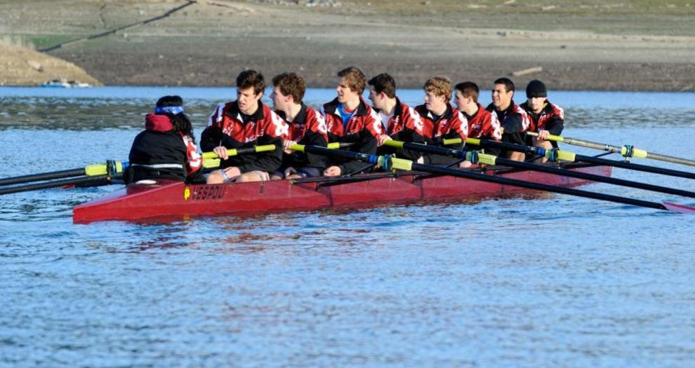 Men's Rowing Wraps Up Year with Strong Showing at Pacific Coast Rowing Championship