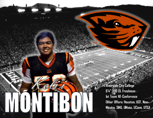 Montibon chooses the PAC-12