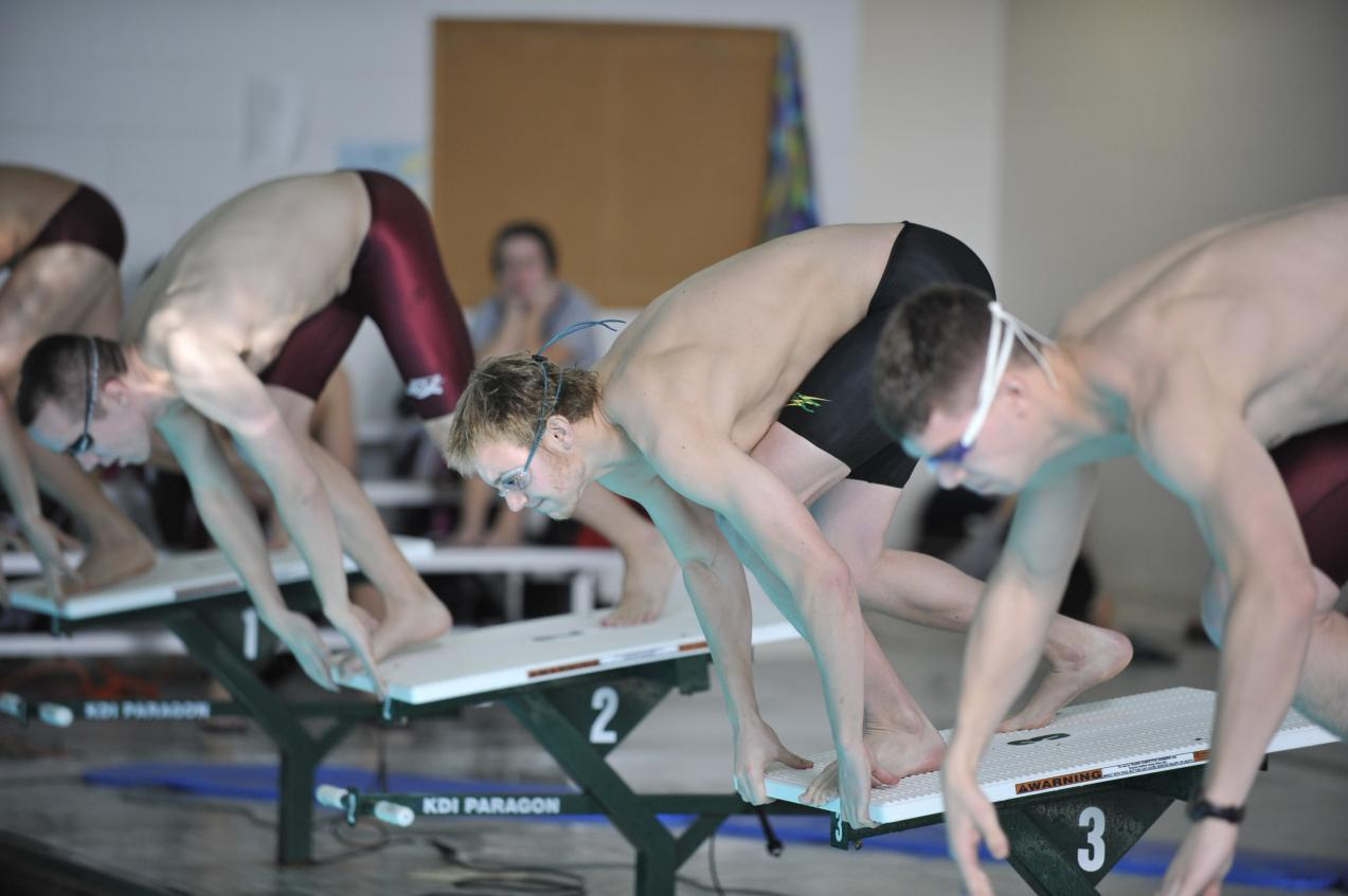 Men's Swimming Finishes Second, Women's Swimming Places Third at 2012 GNAC Championship