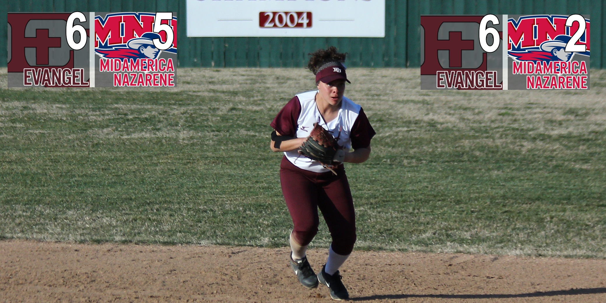 Complete Games Propel Softball to Sweep at MidAmerica Nazarene