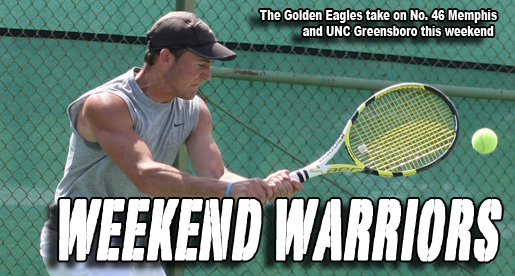 Golden Eagle tennis to take on Memphis, UNC Greensboro this weekend