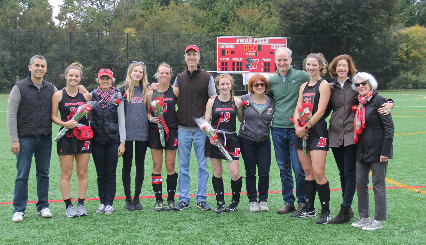 Field Hockey Recognizes Senior Day