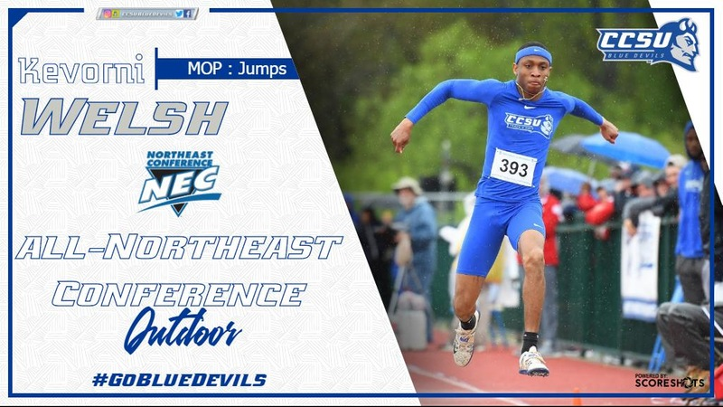 Men's Outdoor Track & Field All-NEC Honors Announced