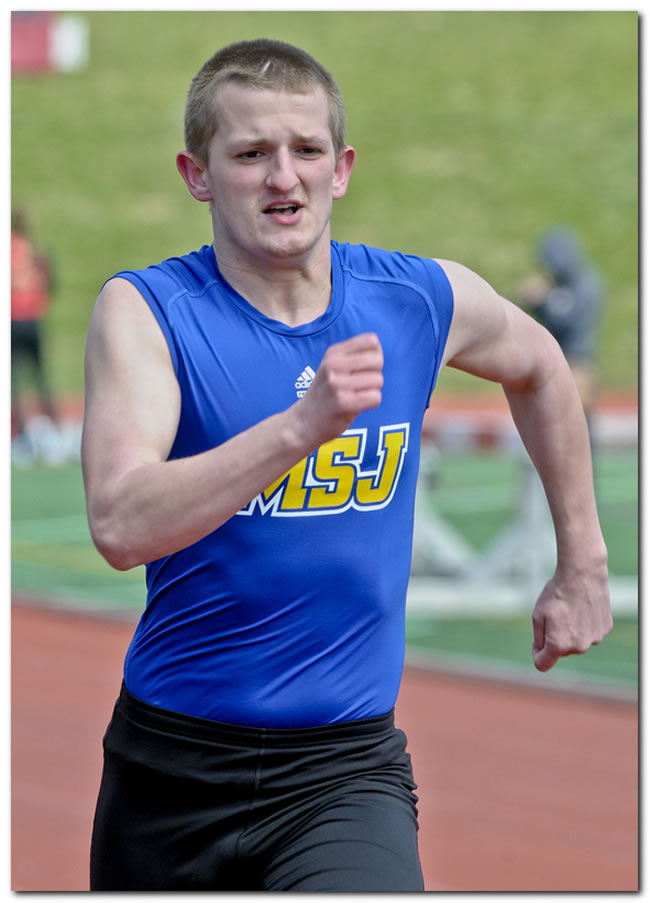 Lions' men's track & field squad competes at the ONU Joe Banks Invitational