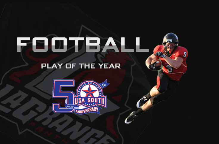 Football: Vote for USA South football play of the year