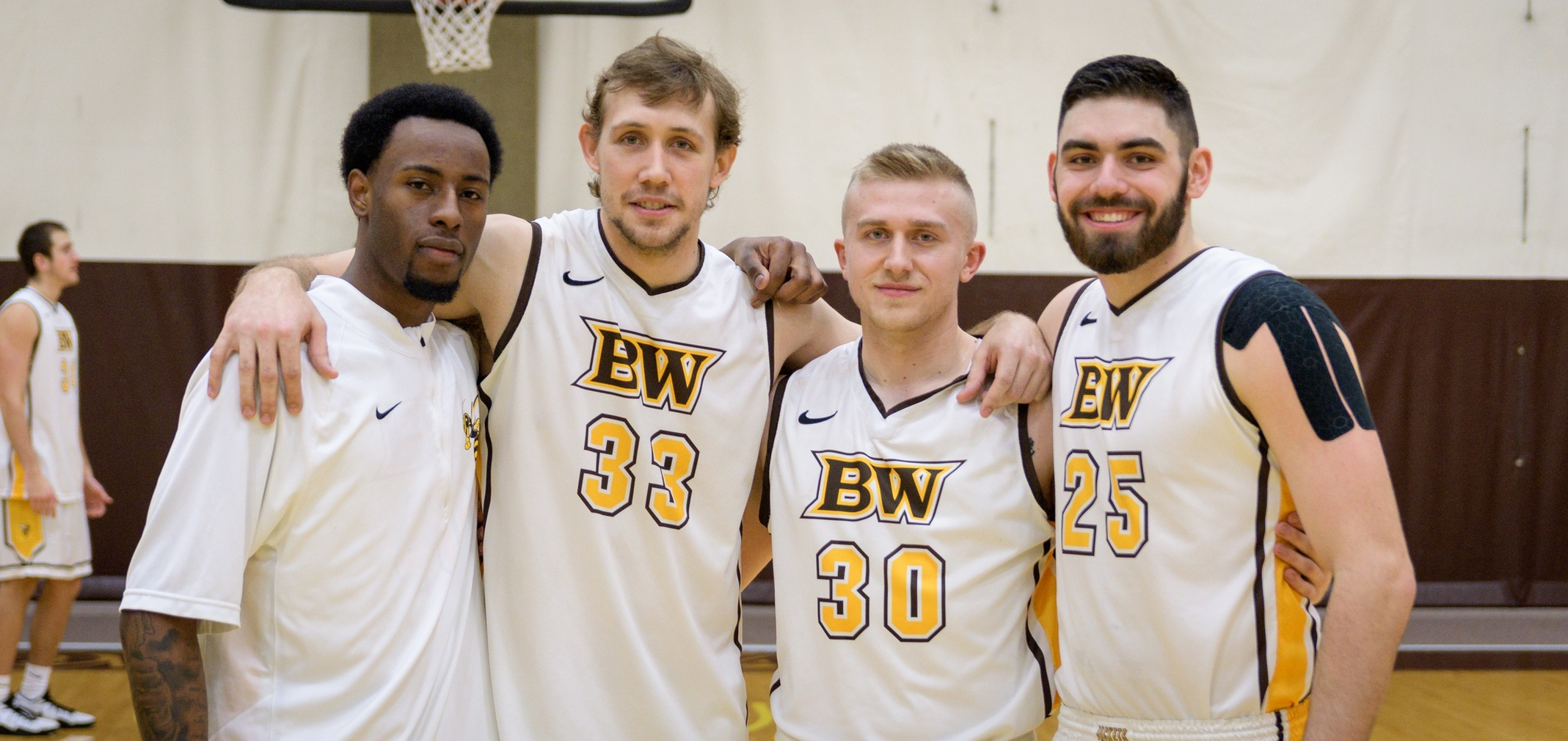 Seniors Jordan Richardson, Jake Fetherolf, Cam Kuhn and Mike Kaminski (Photo courtesy of Jesse Kucewicz)