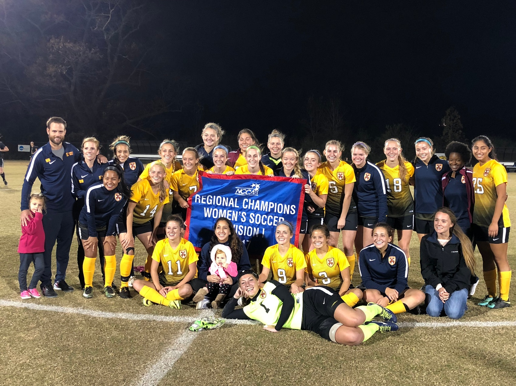 Women's Soccer Captures NCCAA South Region Championship and Advances to Nationals!