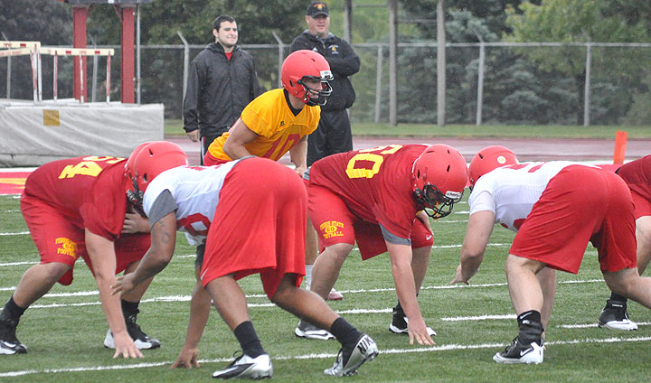 Ferris State Football Opens Spring Practice Drills This Friday