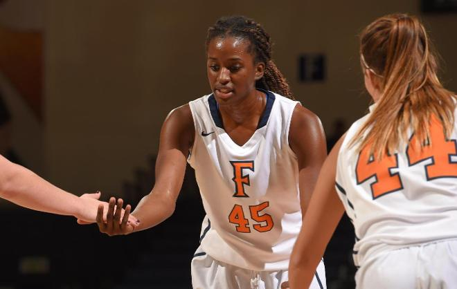 Johnson Records First Career Double-Double in 52-79 Loss at CSUN