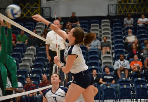UMW Volleyball Falls to Juniata, CNU