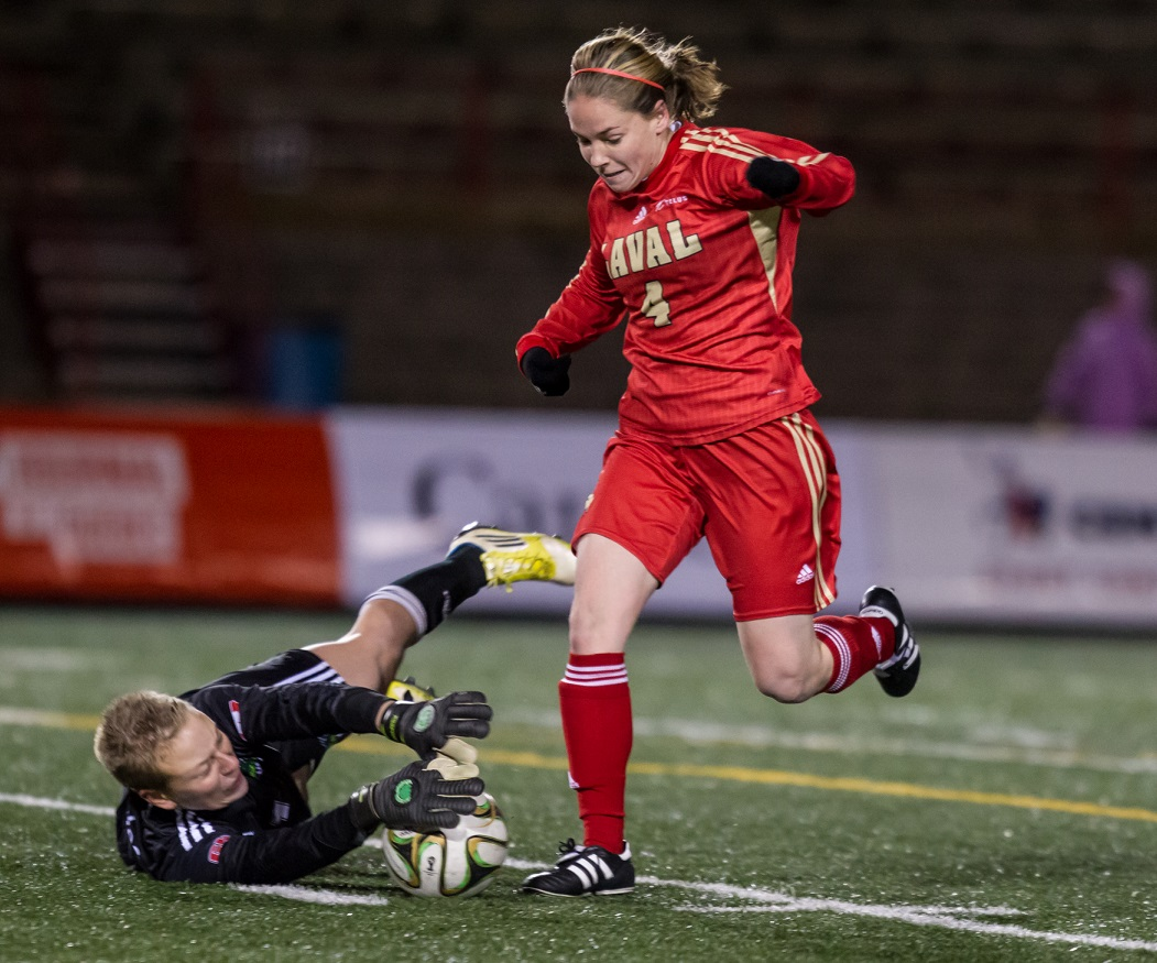 SEMI-FINAL #2 CIS women's soccer championship: Host Laval advances to first-ever final, to face Spartans