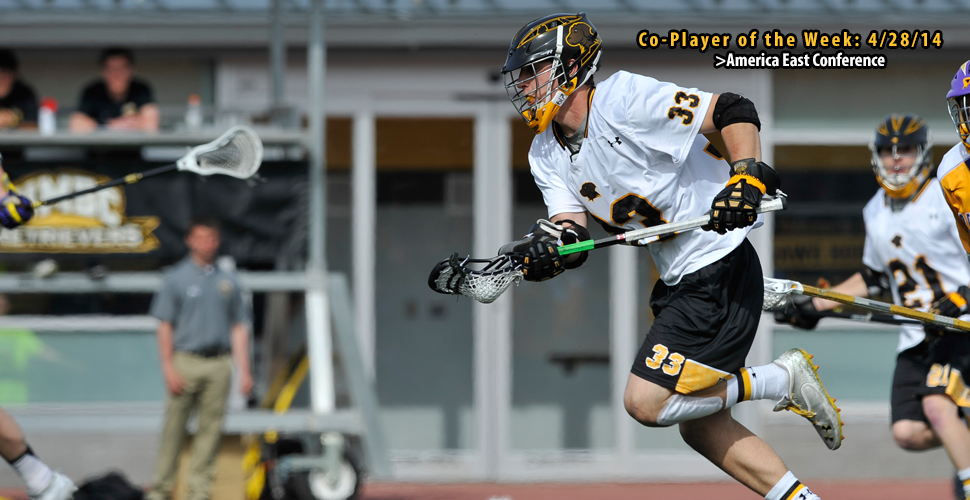 Phil Poe Named AE Men's Lacrosse Co-Player of the Week
