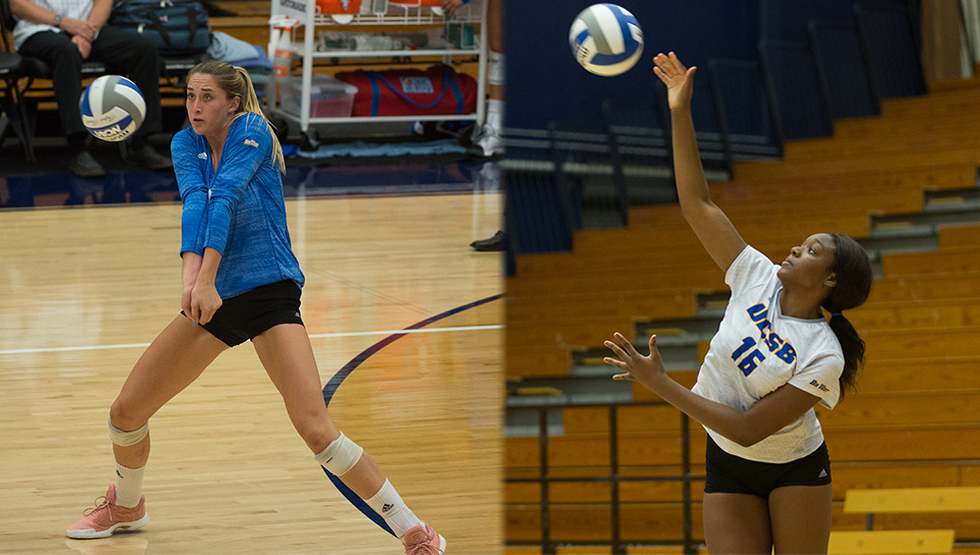 Ruddins, Omwanghe Earn Big West Weekly Honors