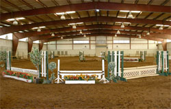 Riding Center, picture of the indoor riding ring