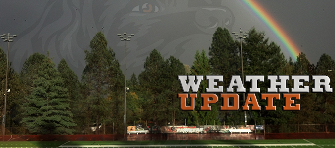 WEATHER UPDATE: Baseball vs. Whitworth Postponed