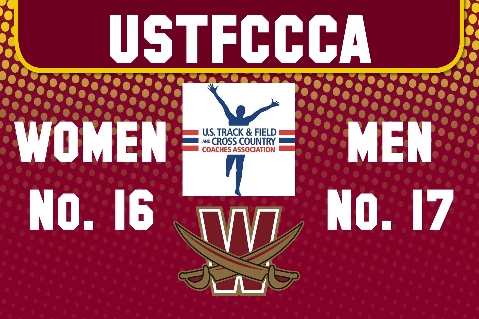 Men's XC Up to No. 17, Women Now No. 16 Nationally