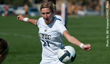 Blugold Soccer Conquered by Carleton College