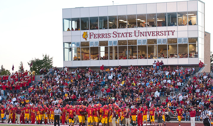 Ferris State Athletics' Fall Ticket Information Now Available; Purchase Football Tickets Online!