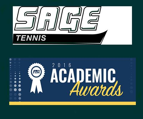 Sage tennis players named to 2015-2016 ITA Scholar-Athlete Teams