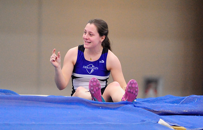 Swisher Ready for NCAA Indoor Championships