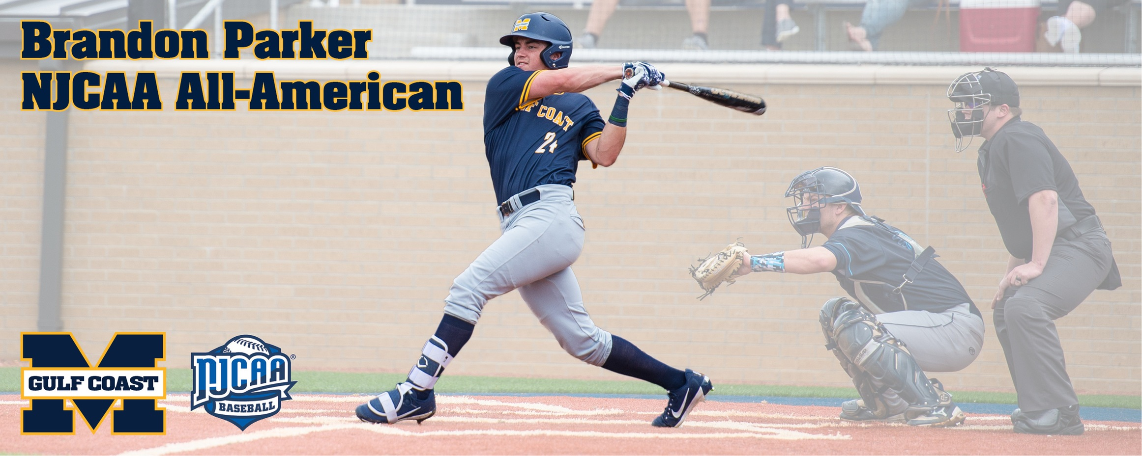 Parker named NJCAA All-American