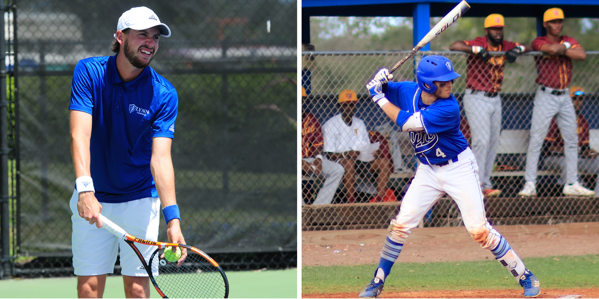 Bocchino and Bartmann Named SSC Players of the Week