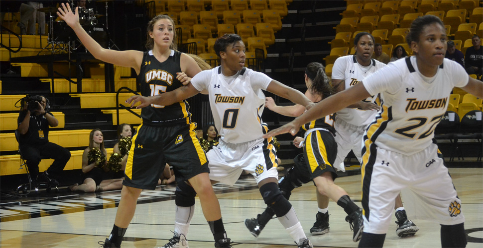Women's Basketball Late Run Falls Short Against Towson, 64-57