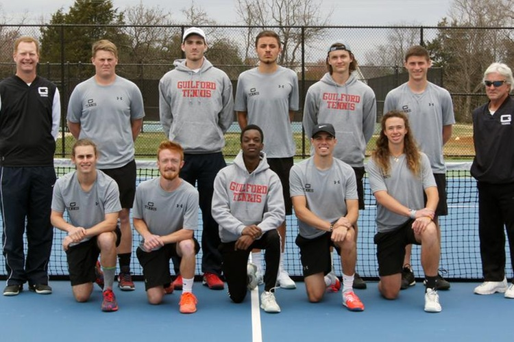 2016-17 Guilford College Men's Tennis Team (John Bell, Touch A Life Photography)
