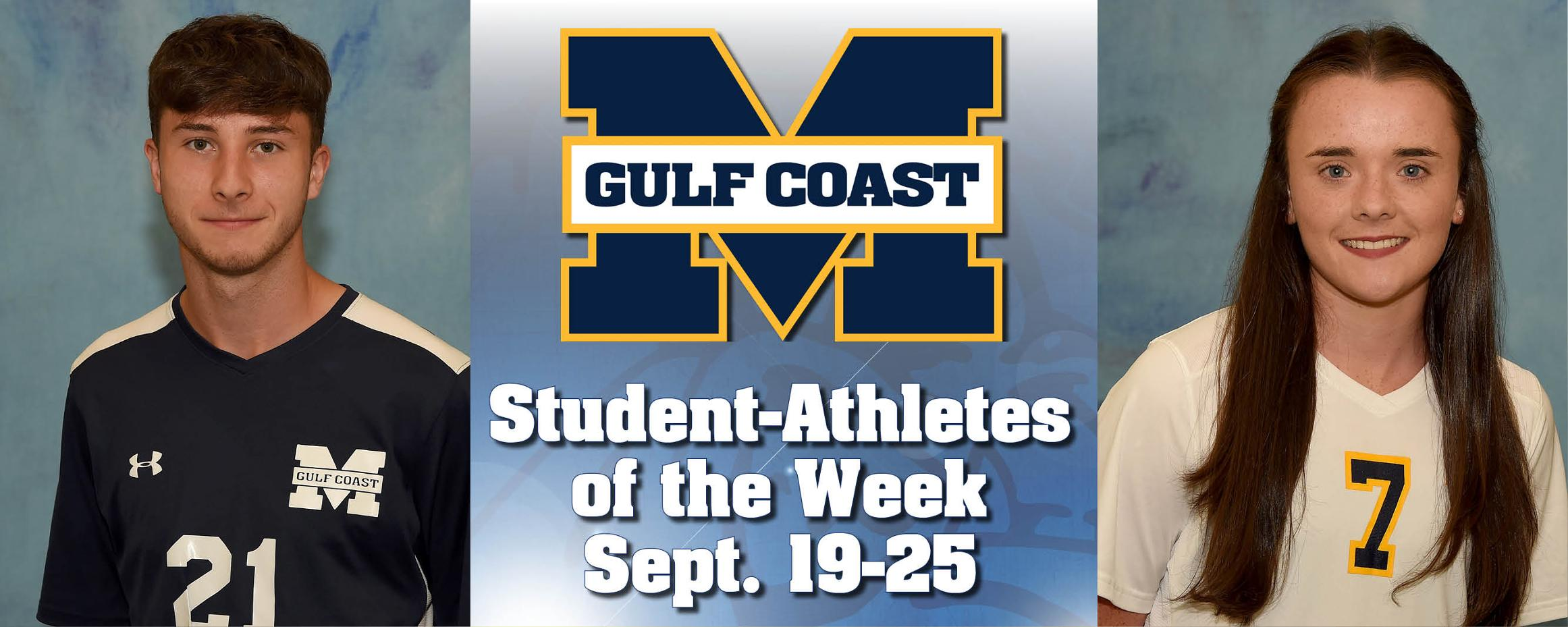 Eadsforth, Longsden named MGCCC Student-Athletes of the Week