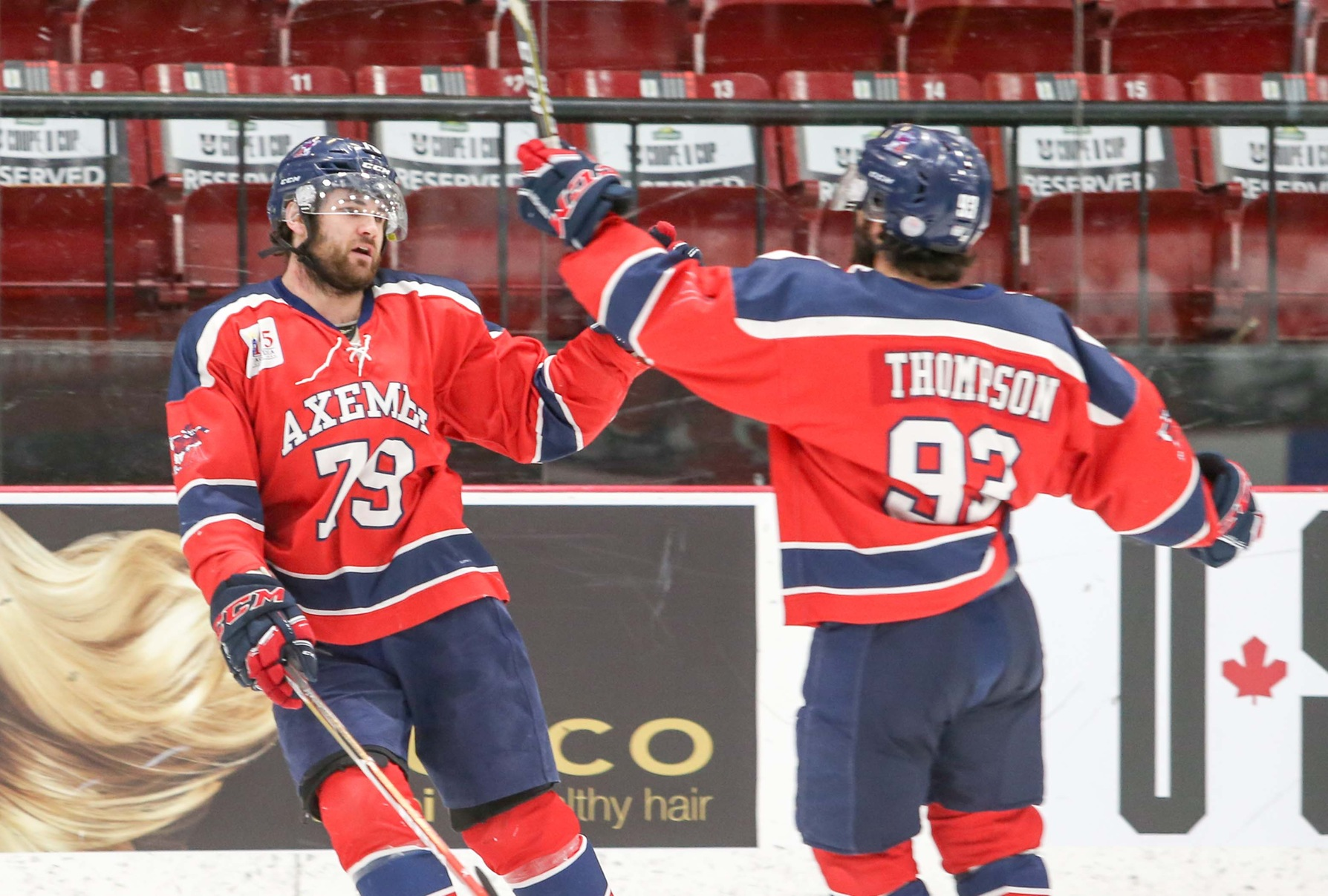 Bronze 2017 U SPORTS Cavendish University Cup: Acadia lays the lumber to win bronze, 7-3 over StFX