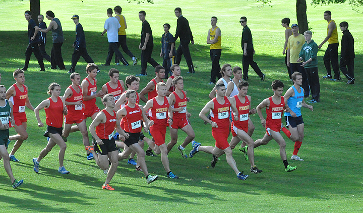 2014 Bulldog Invitational - Final Race Results