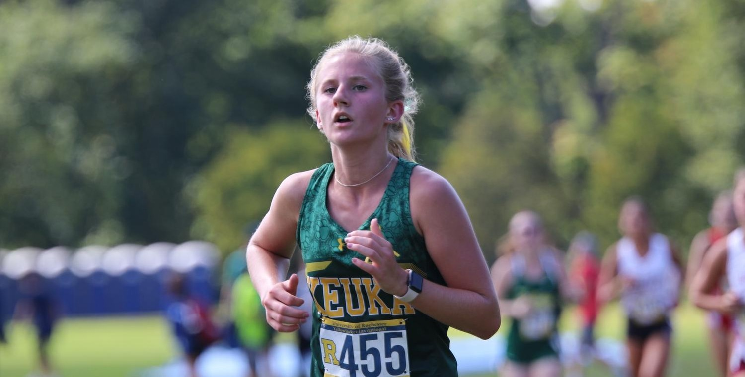 Brianna Guererri was the top finisher for Keuka College
