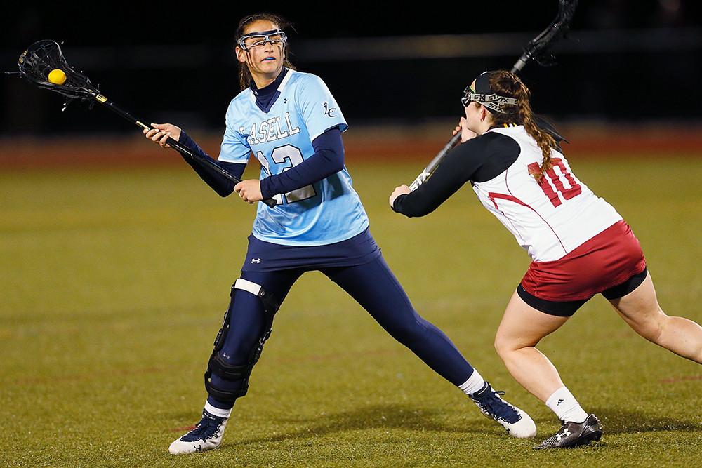 WLX: Lasell rallies past Simmons to win in overtime