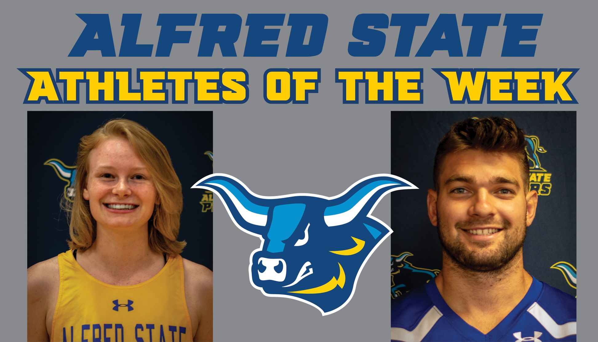 Russell and Lauretti Named Athletes of the Week