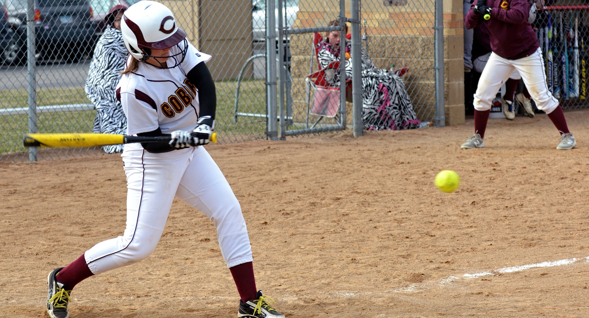 Sophomore Nicole Johannes had hits in both games and helped the Cobbers post wins over Finlandia and Northland.