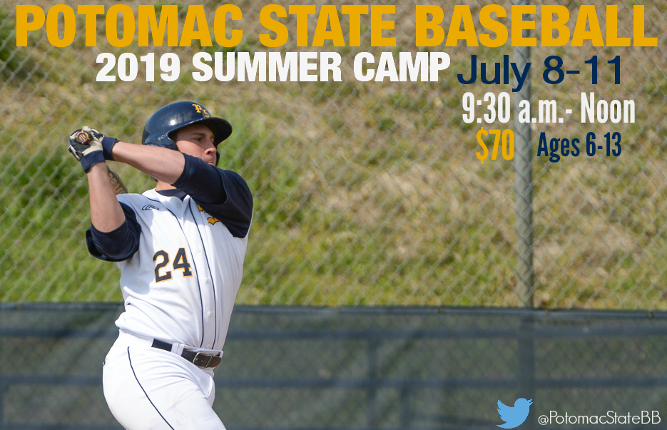 WVU Potomac State College Baseball 2019 Summer Camps