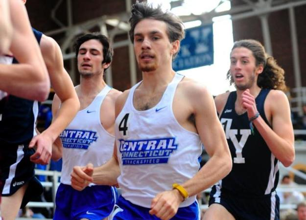 Men's Track & Field 3rd After NEC Opener