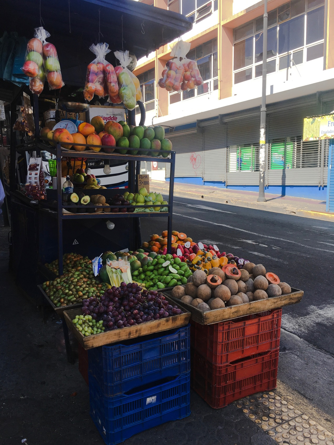Costa Rican Street Food Cart