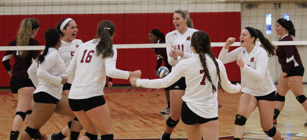 Women's Volleyball Sweeps Colby-Sawyer In Home Opener