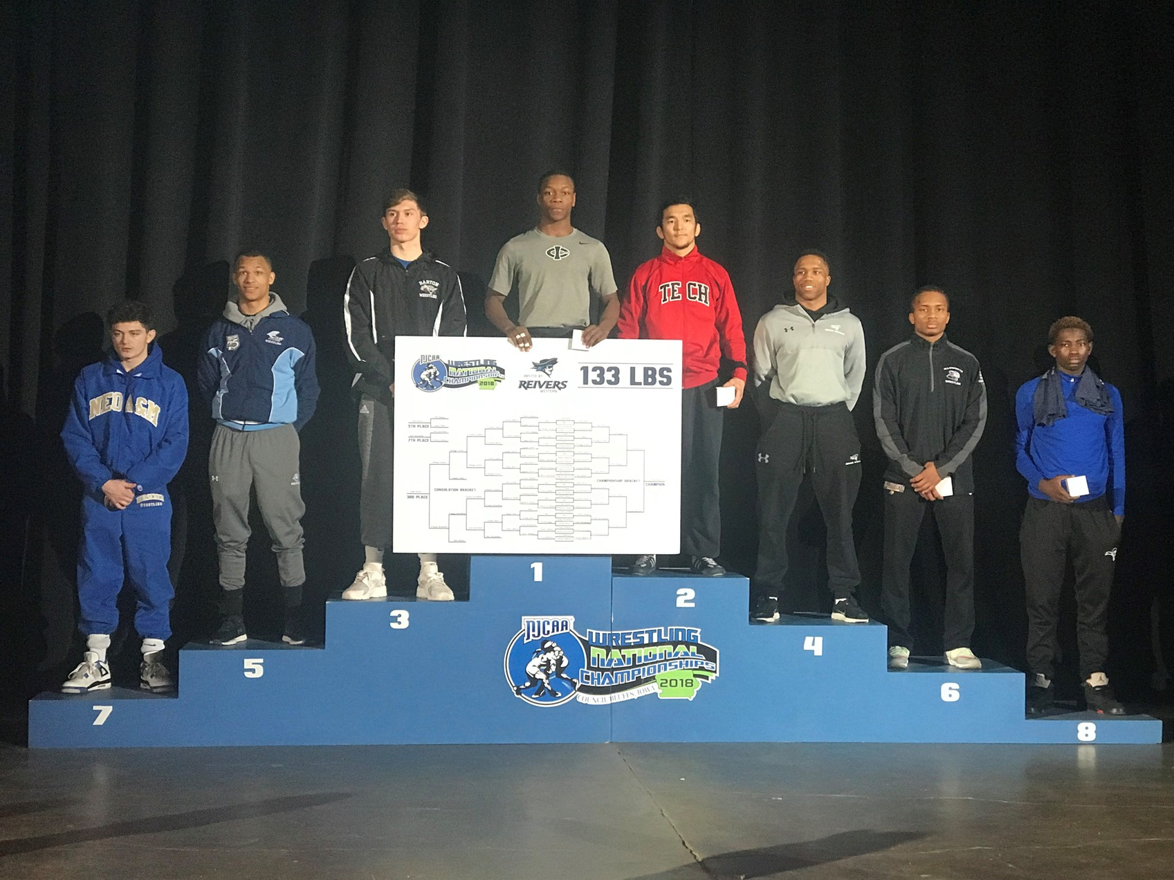 Tramon Jenkins Earns All-America Status at the NJCAA Tournament