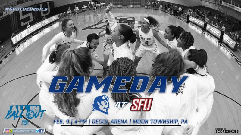 Women's Basketball Starts Four-Game Road Series at Saint Francis U