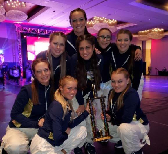 Skippers Dance, 2nd place finish at the GLCC National Dance Competition, March 2020