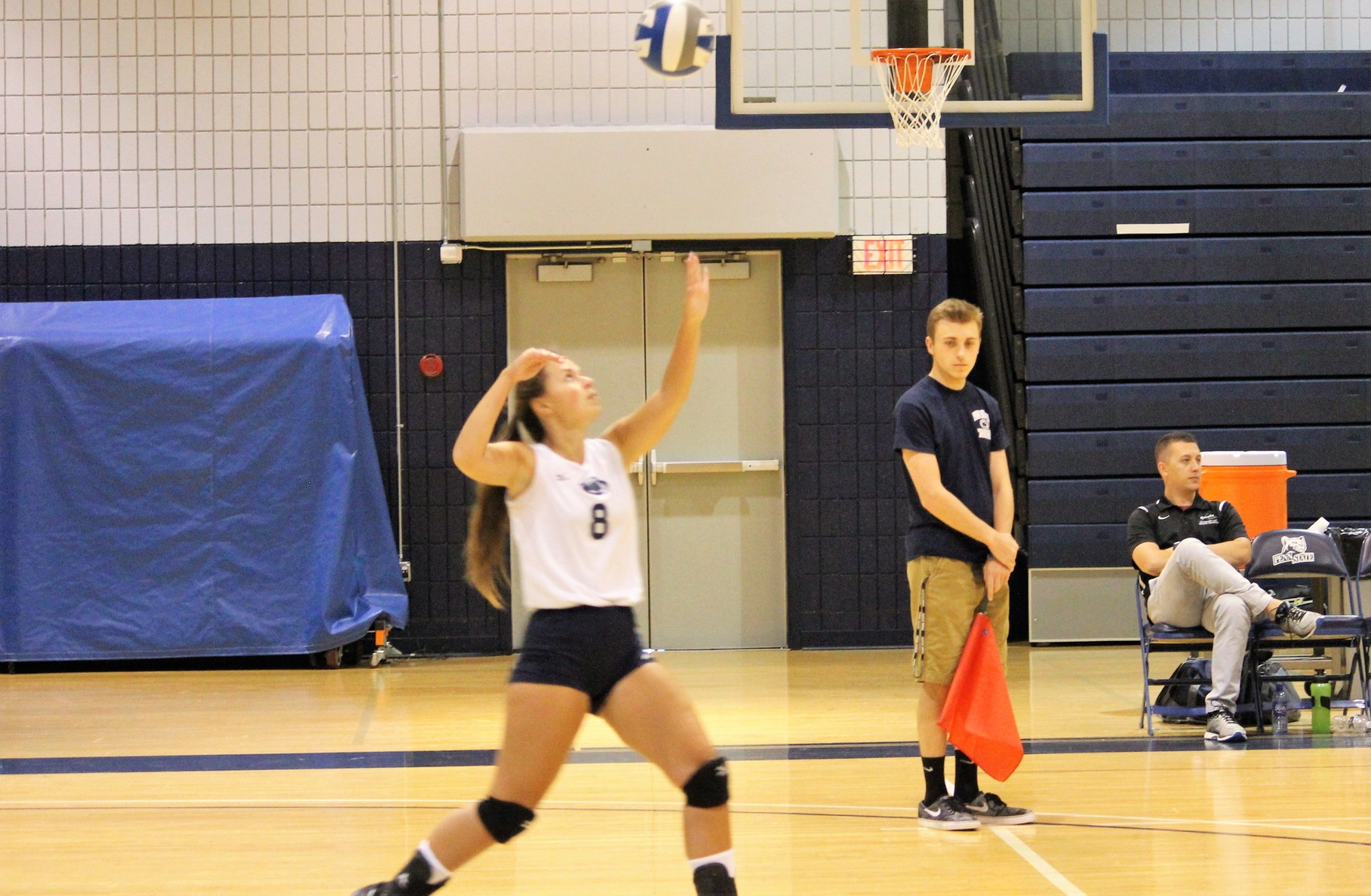 Women's Volleyball Splits at Home PSUAC Quad Match