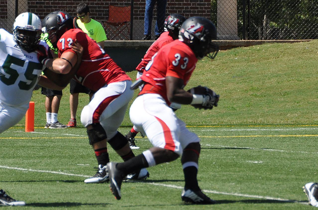 Football: Big first half carries Panthers past N.C. Wesleyan