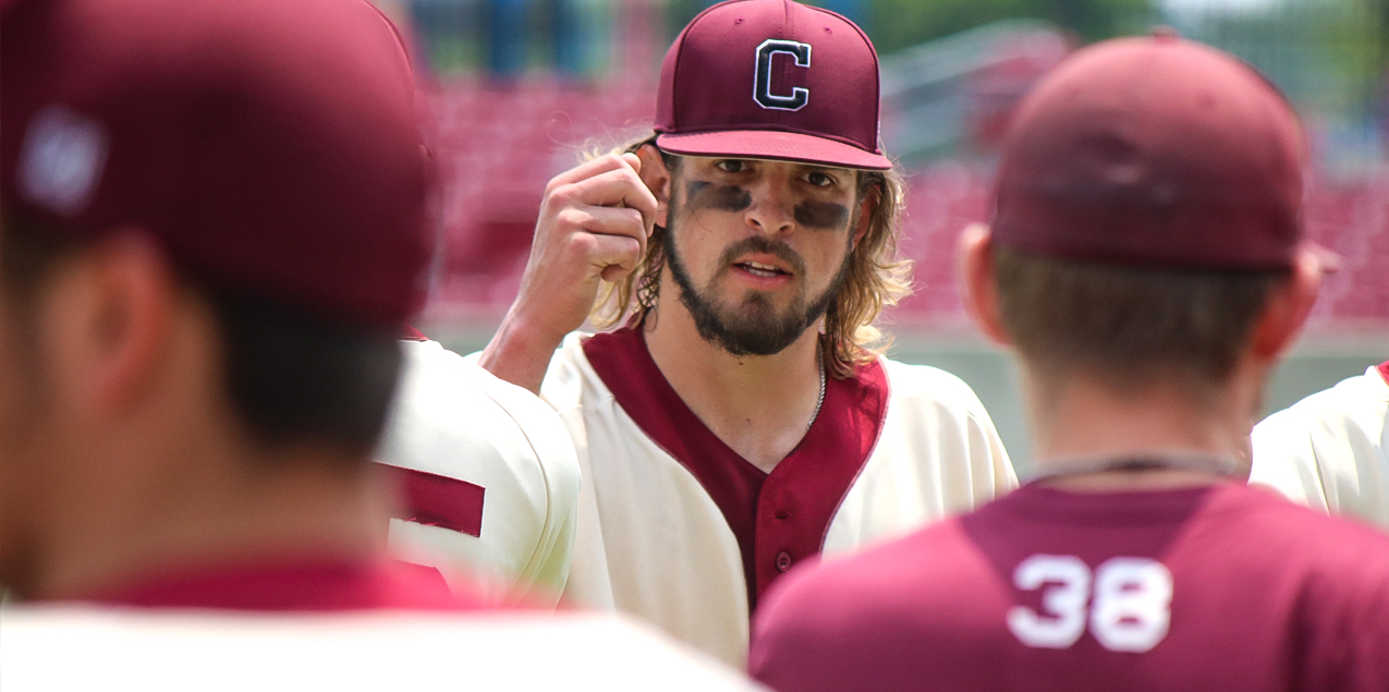 Cole Lavergne, Centenary College, Co-Pitcher of the Week (Week 13)