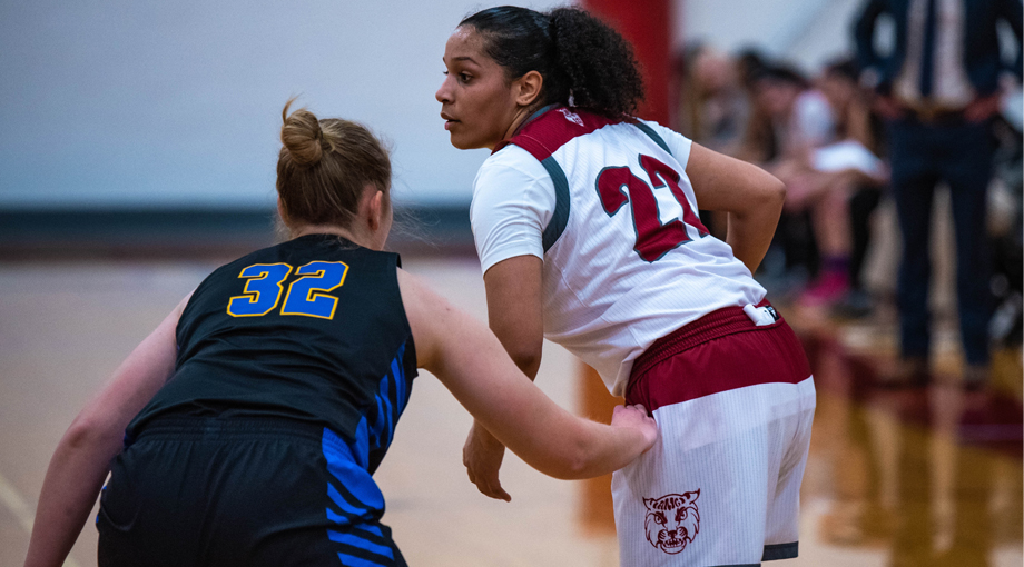 Women's Basketball Fights Past the Cadets