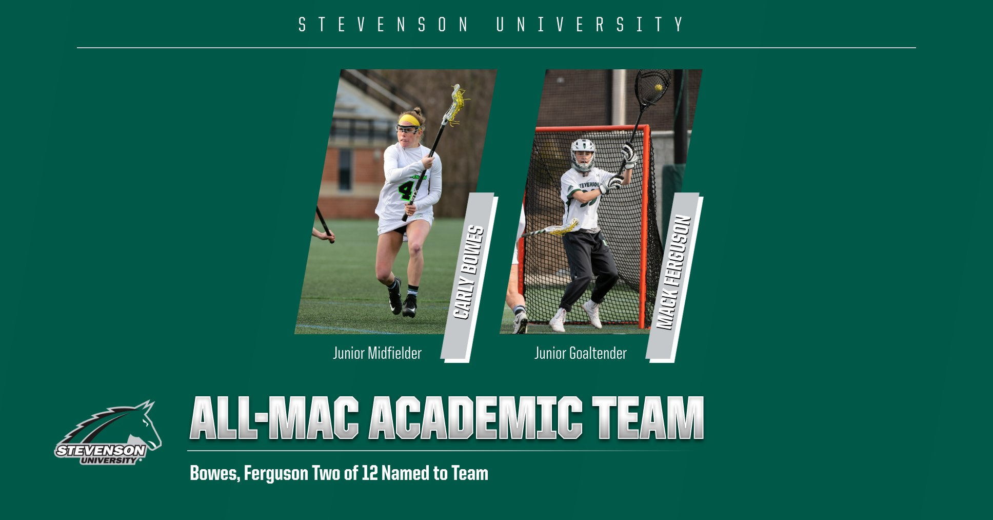 Bowes, Ferguson Named to Spring Academic All-MAC Team