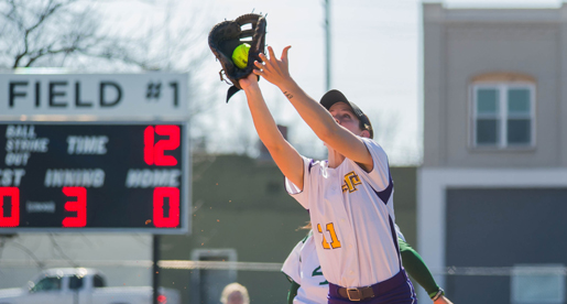 Softball back in win column after a commanding performance over Providence