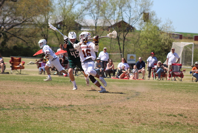 Lions Lacrosse Drop Conference Game